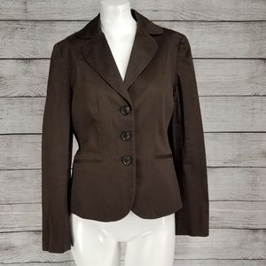 Ann Taylor 4 Blazer Suit Jacket Button front